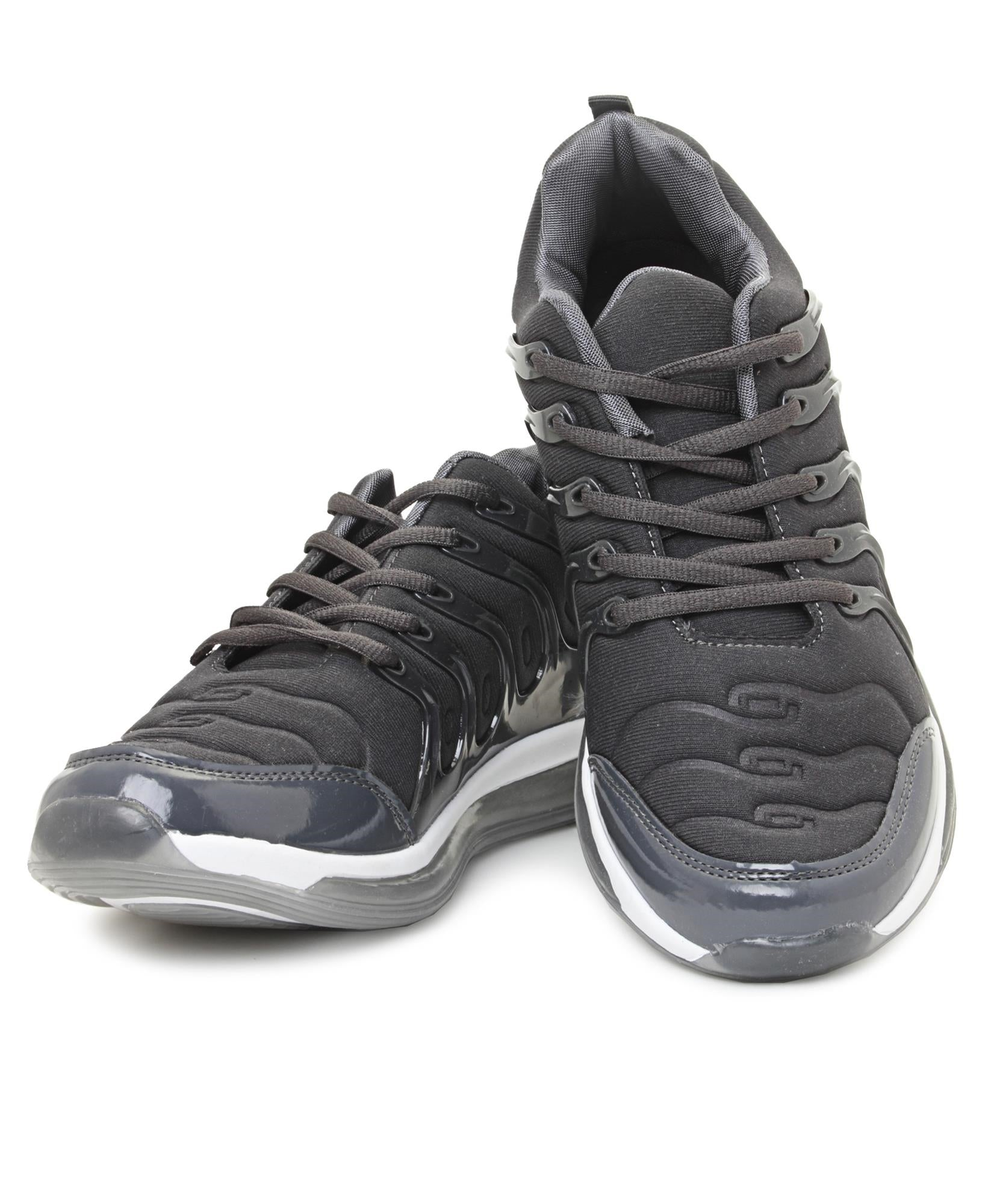 Men's Casual Sneakers - Dark Grey