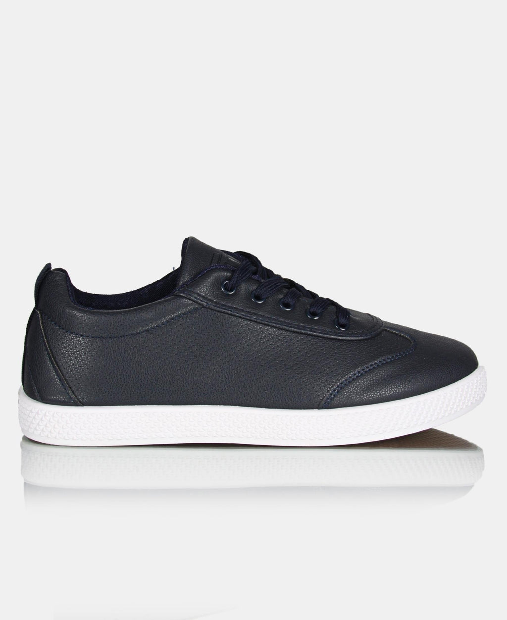 Men's Casual Sneakers - Navy-White