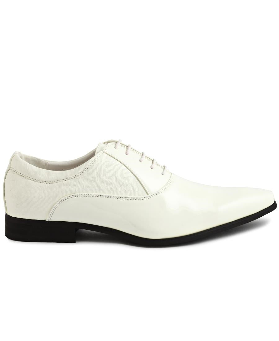 Lace Up Shoe - White