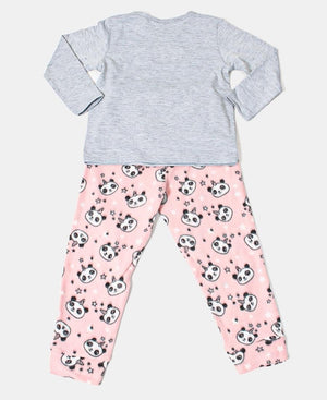Kids Padicorn Set Pyjama Set - Grey