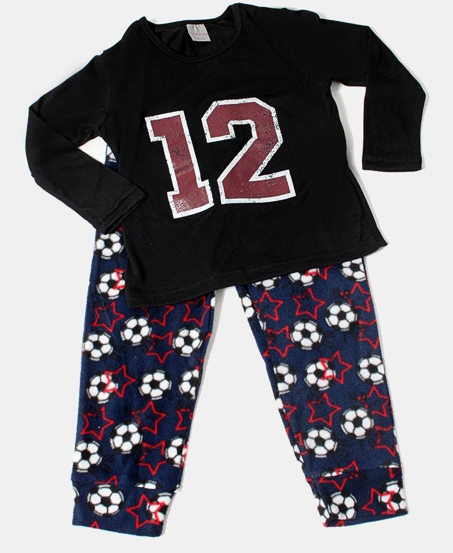 Kids Pyjama Set - Black