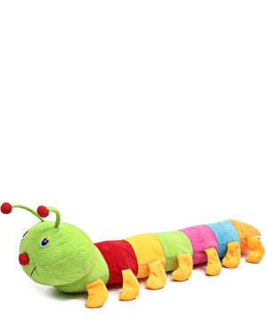 73cm Stuffed Plush Worm - Multi