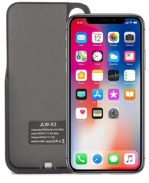 X3 Iphone X Power Case 5000mAh - Black