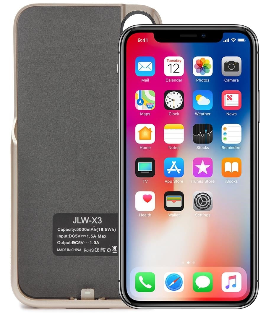 X3 Iphone X Power Case 5000mAh - Gold