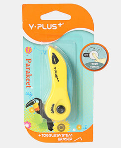 Y-Plus Toggle System Eraser - Yellow