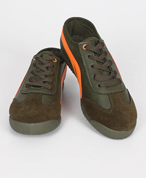 Youth Lamar Sneakers - Olive