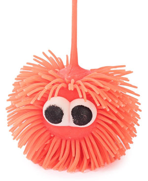 Mini Squishy Puffer Light Ball - Orange