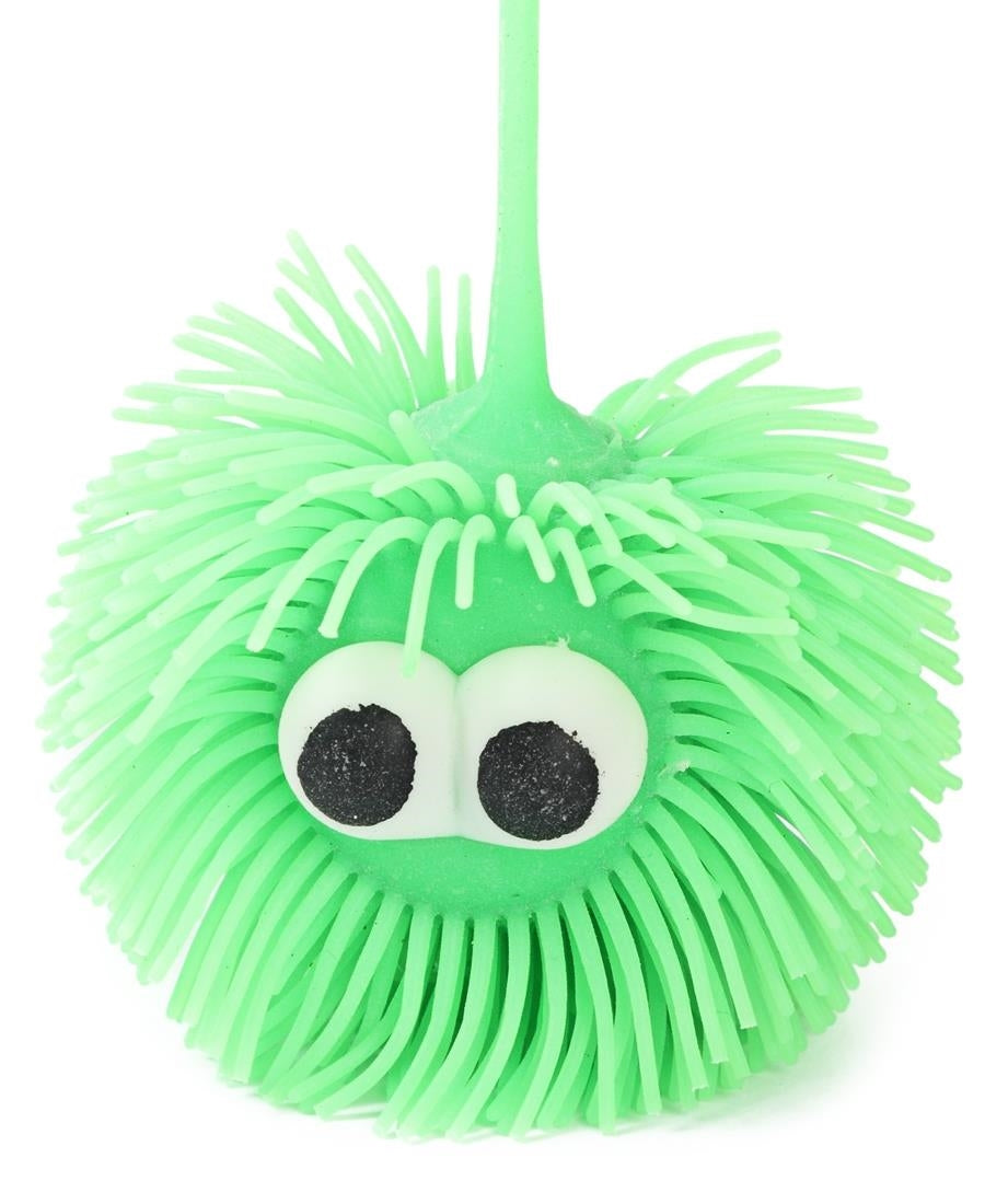 Mini Squishy Puffer Light Ball - Green