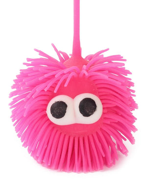 Mini Squishy Puffer Light Ball - Pink