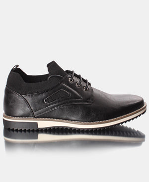 Men's Lace Up Casuals - Black