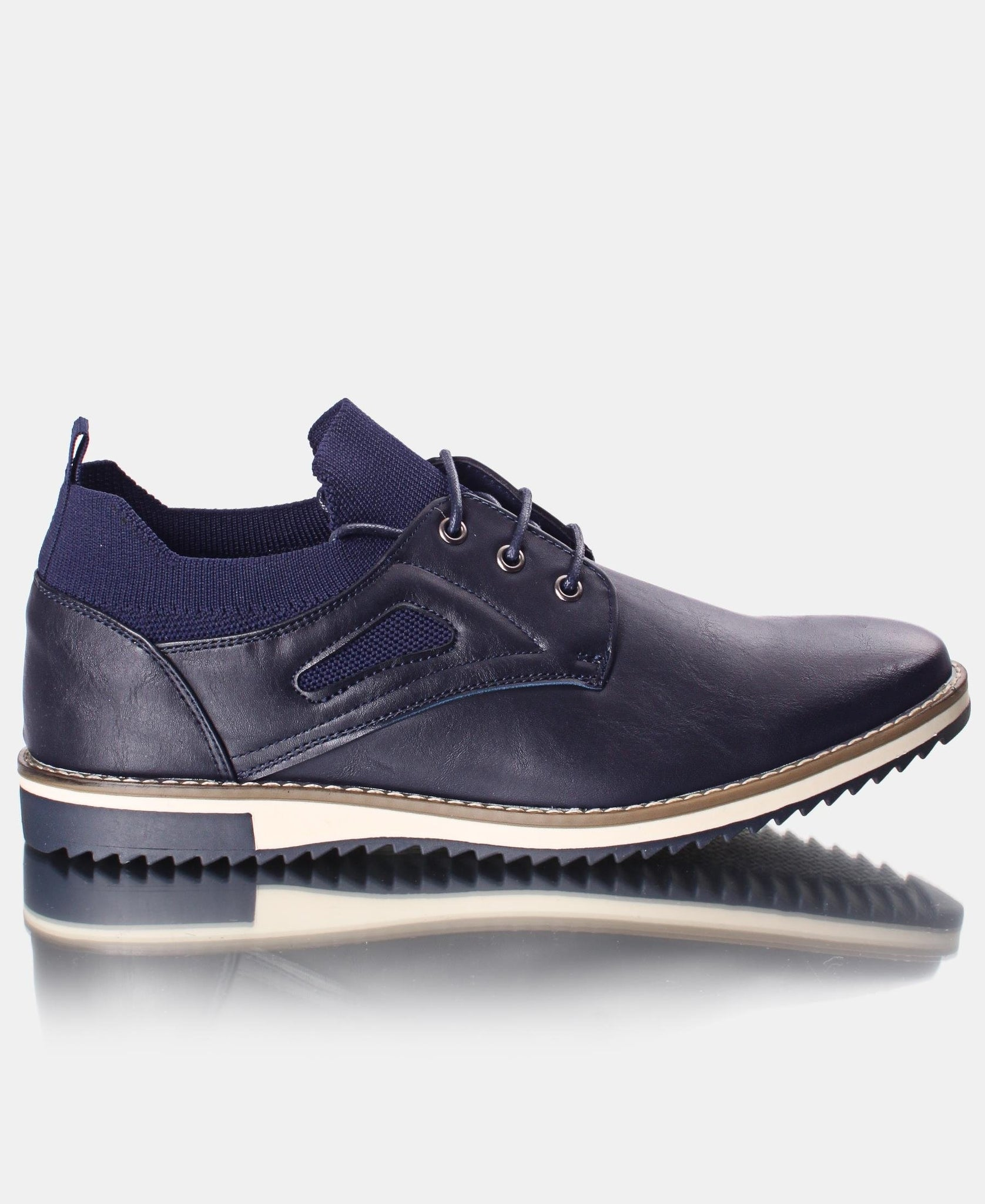 Men's Lace Up Casuals - Navy
