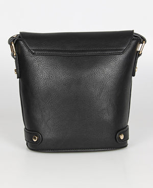 Ladies Black Crossbody Bag - Bags