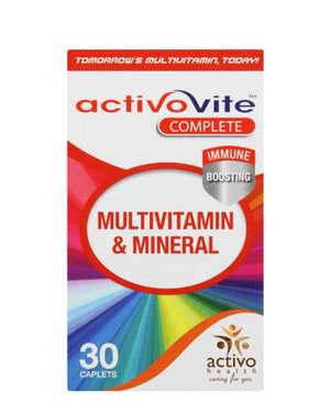 Activovite multi vitamin and mineral 30s - Red