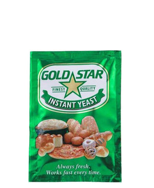 Gold Star Instant Yeast 10g - Gold