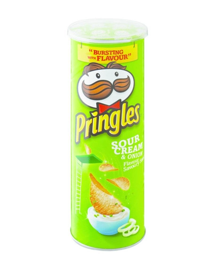 Pringles Sour Cream 110g - Green