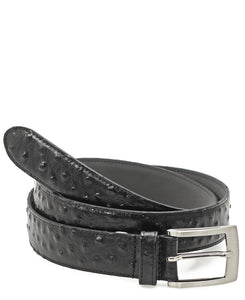Leather Belt - Black