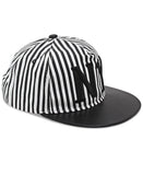 NY Striped Cap - Black