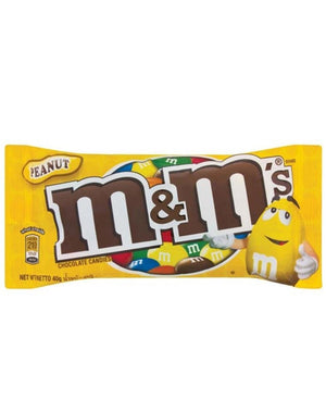 M&M's Peanuts 40g - Yellow