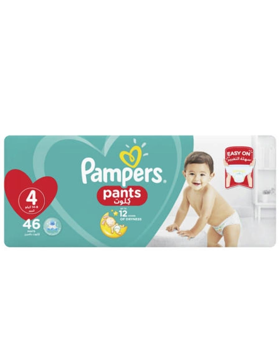 Pampers Diaper Pants 46s  4 - Blue