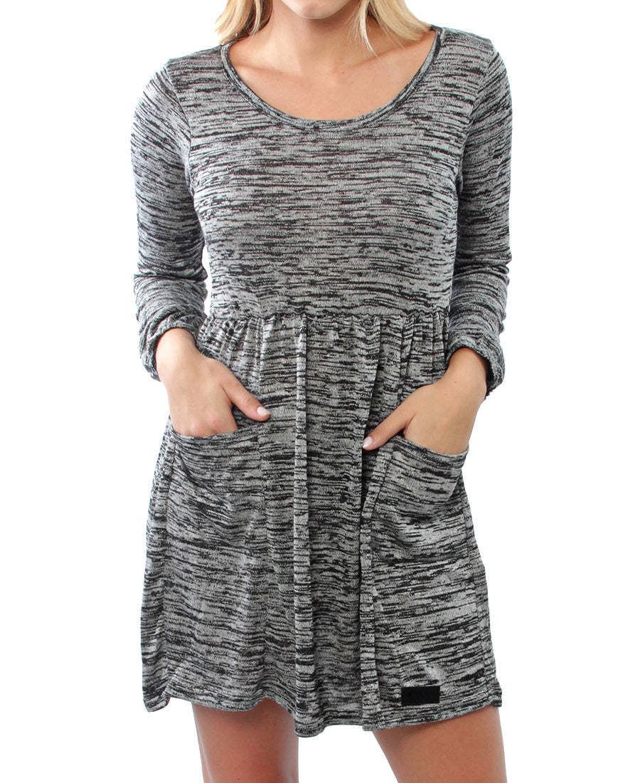 Claribella Dress - Grey