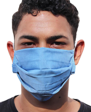 3 Ply face Mask single - Blue