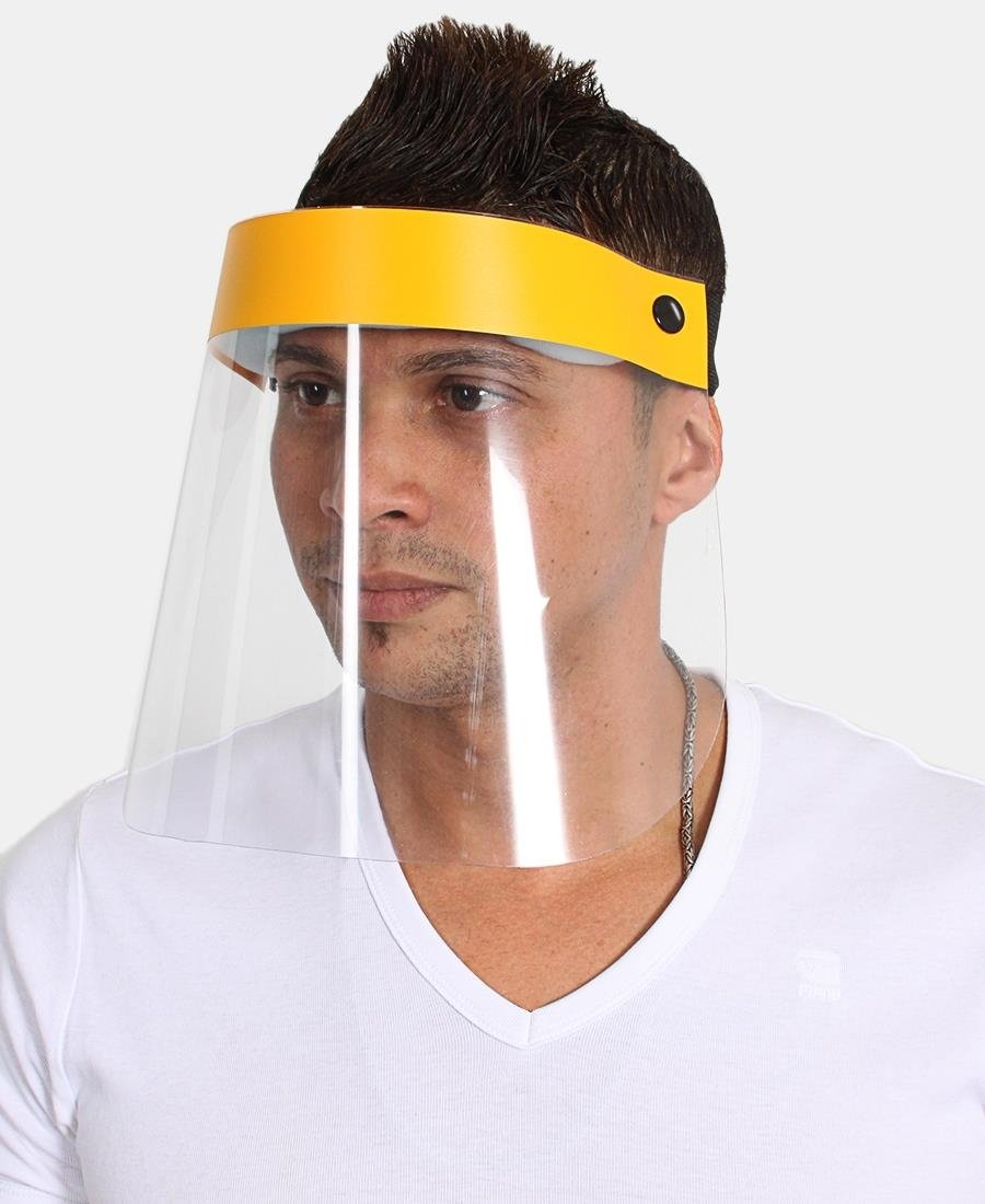 Face Shield 250 Micron - Yellow