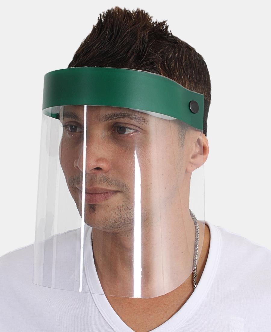 Face Shield 250 Micron - Green