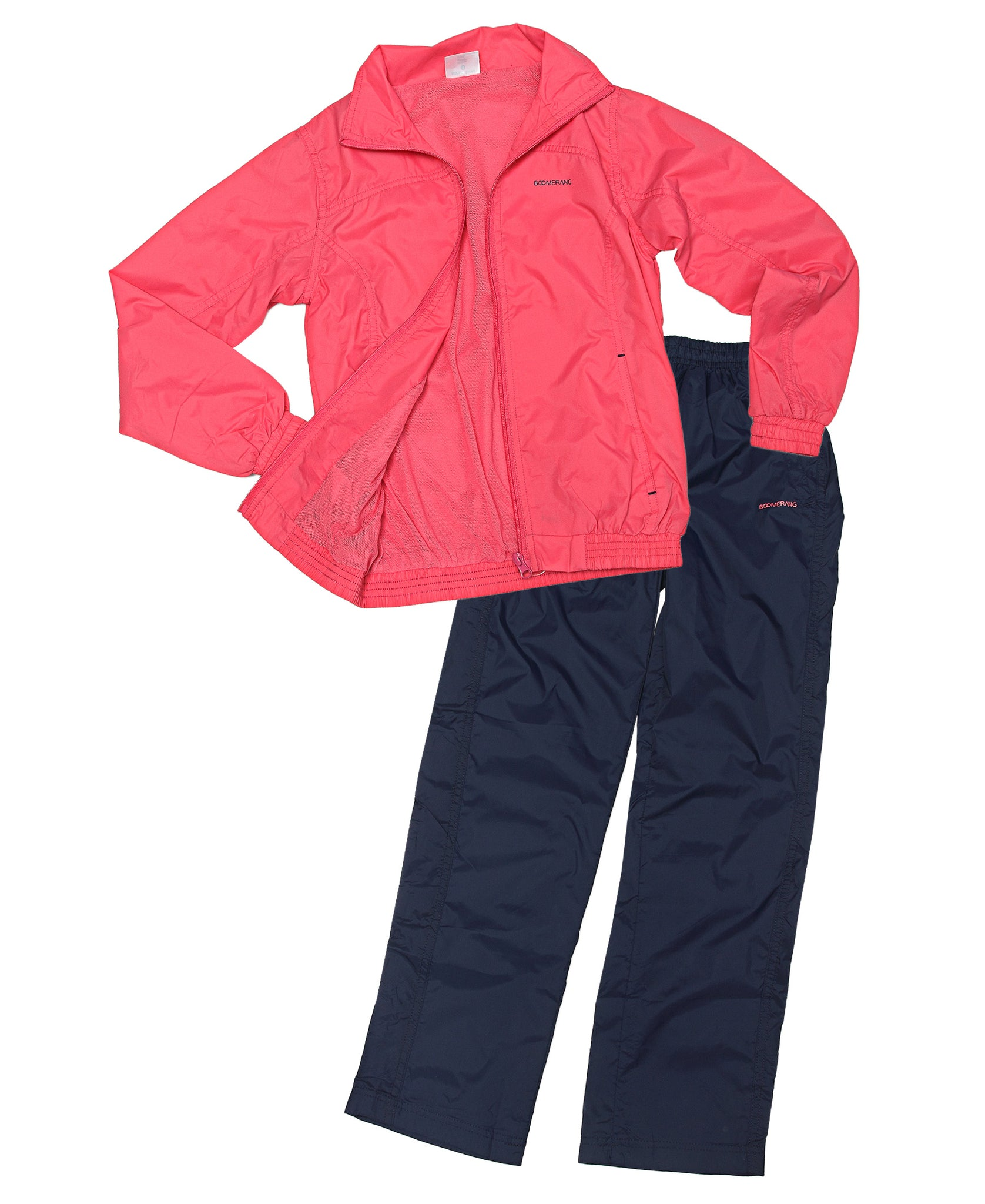Kids 2 Piece Tracksuit - Fuschia
