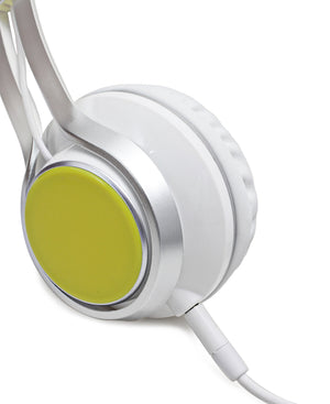 Stereo Headphones - Yellow