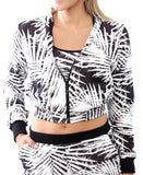 Palm Jacket - White