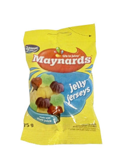 Maynards Jelly Jerseys 75g - Blue