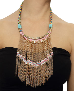 Statement Neckpiece - Gold