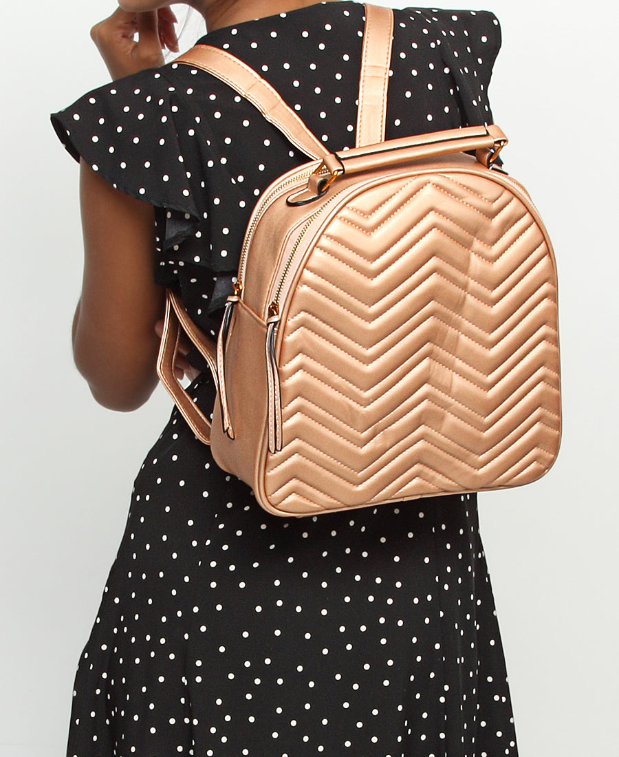 Backpack - Rose Gold