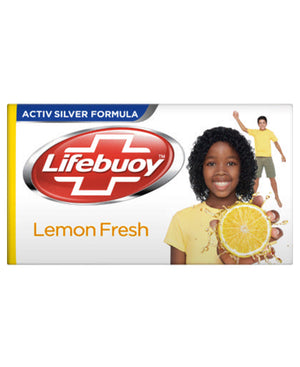 Life Buoy Lemon Fresh 175g Soap  - White