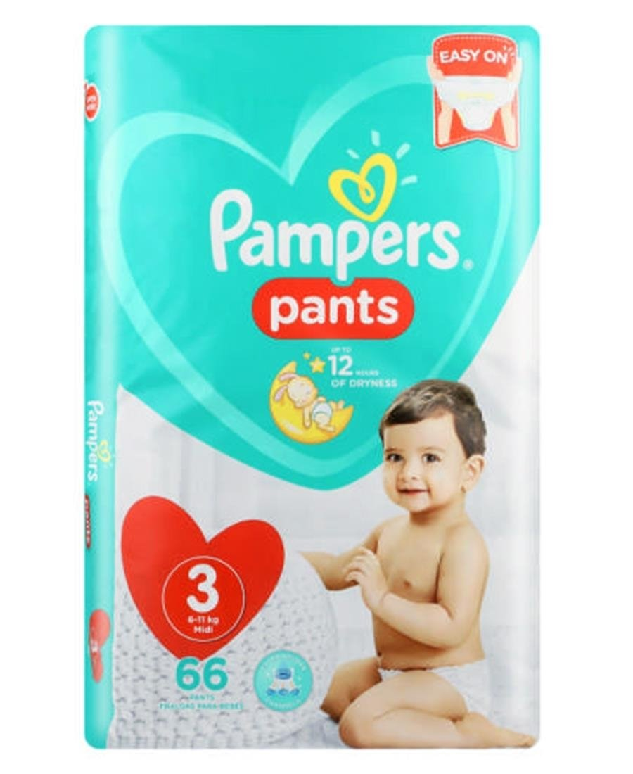 Pampers Pants Jumbo pack 66s  3 - Blue