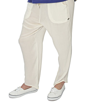 Golden Haze Pants - White