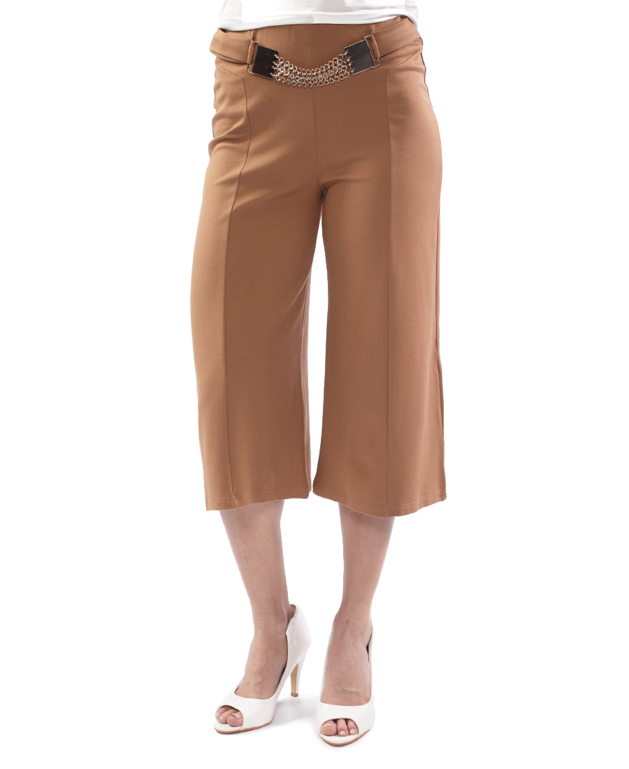 Nylon Pants - Brown