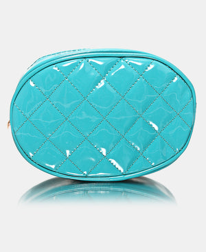 Quilted Moonbag - Teal
