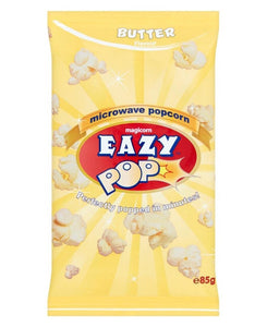 Easy Pop Microwave Popcorn Butter  85g - Yellow