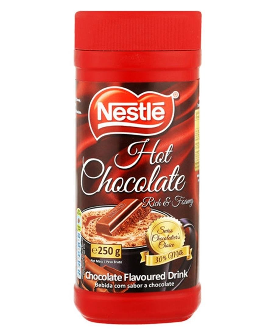 Nestle Hot Chocolate 250g - Brown