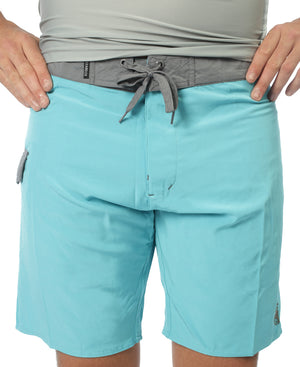 Eco Slim Shorts - Blue