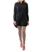Longer Length Shirt - Black