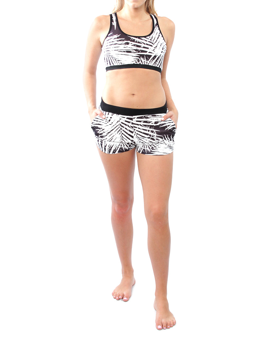 Palm Shorts - Black