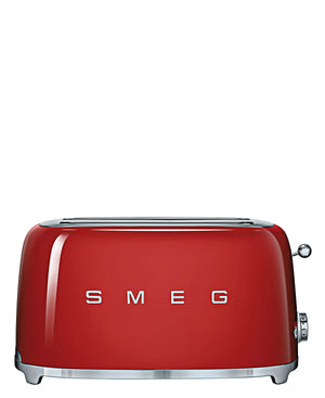 Smeg 4 Slice Toaster - Red