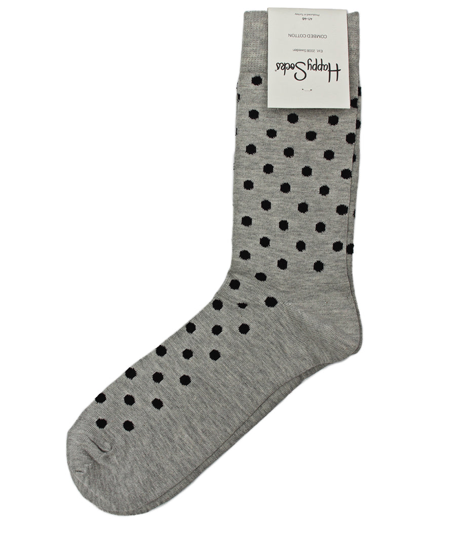 Dot Socks - Grey