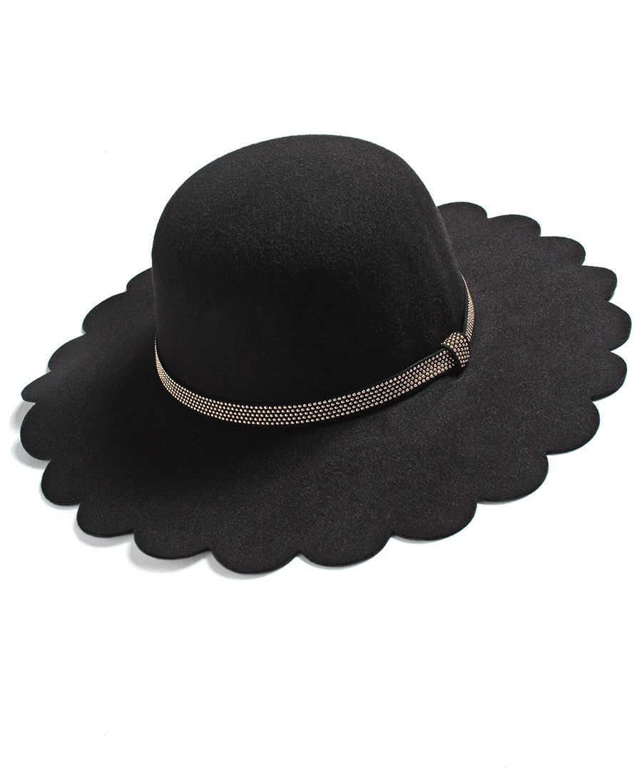 Stud Belt Hat - Black
