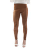 Suede Pants - Tan