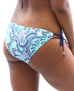 Aruba Tie Side  Bottom - Blue