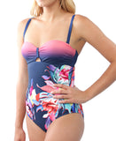Underwire Loop Suit - Pink