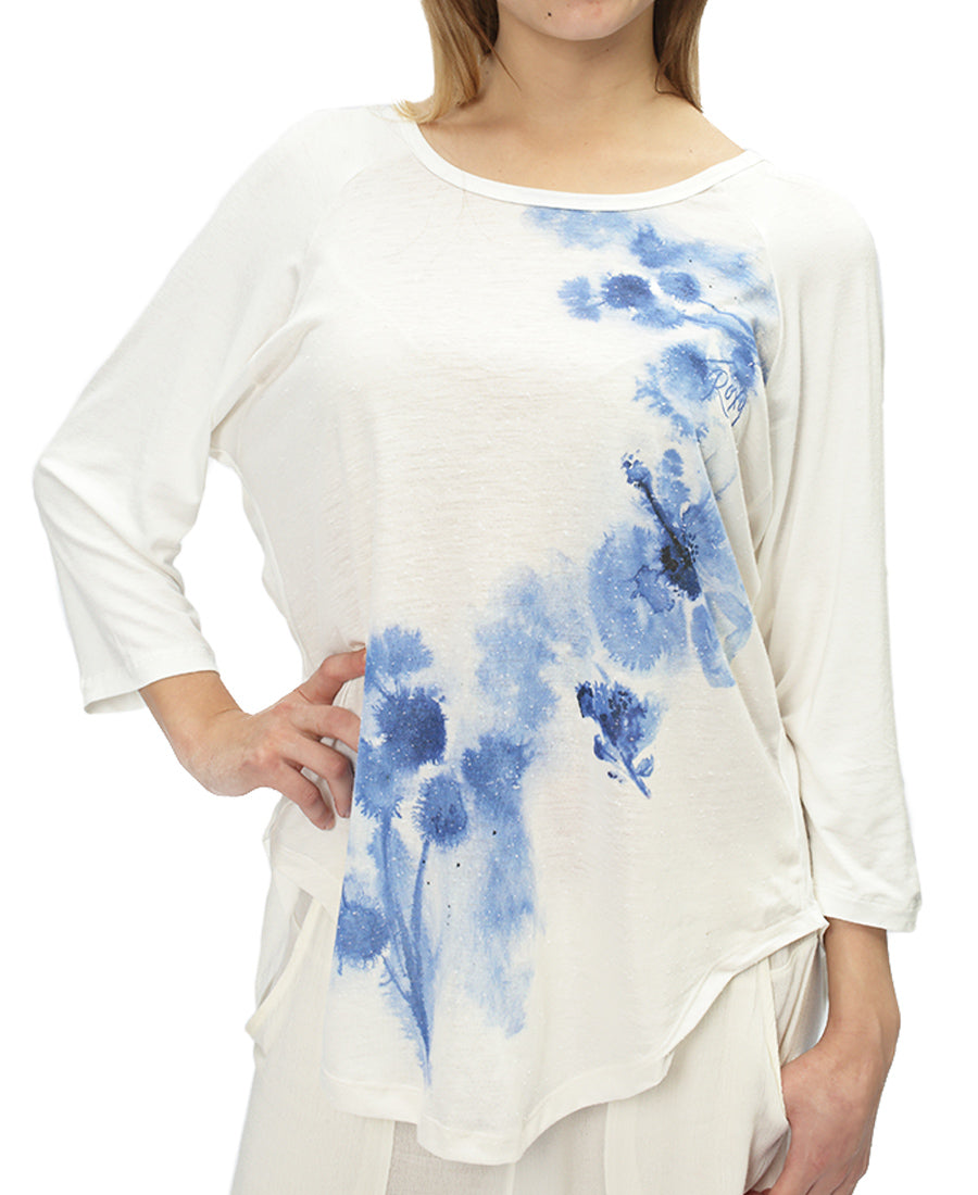 Namanori Top - White